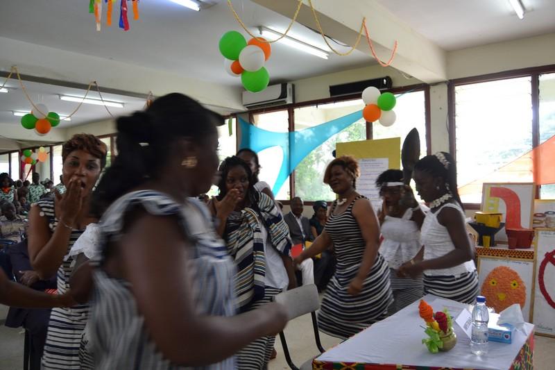 Cérémonie d'ouverture des soutenances de mémoire de fin de formation de la 45ème promotion des étudiants de L'INFS / année 2016